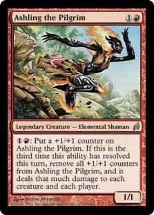 《巡礼者アシュリング/Ashling the Pilgrim》[LRW] 赤R