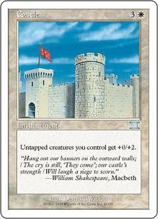 《城壁/Castle》[6ED] 白U