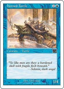 《角海亀/Horned Turtle》[6ED] 青C
