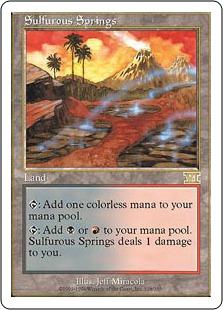 《硫黄泉/Sulfurous Springs》[6ED] 土地R