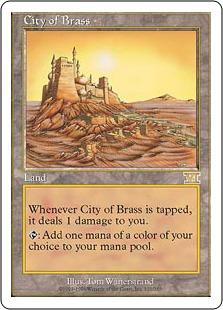 《真鍮の都/City of Brass》[6ED] 土地R