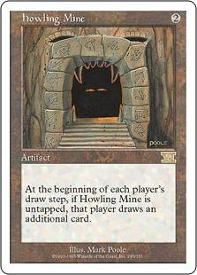 《吠えたける鉱山/Howling Mine》[6ED] 茶R