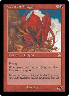 《欲深きドラゴン/Covetous Dragon》[UDS] 赤R