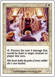 【Foil】《練達の癒し手/Master Healer》[7ED] 白R