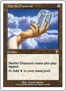 《乳白色のダイアモンド/Marble Diamond》[7ED] 茶U