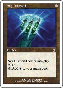 《空色のダイアモンド/Sky Diamond》[7ED] 茶U
