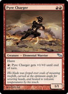 《火の突撃者/Pyre Charger》[SHM] 赤U