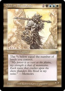 黒き剣のダッコン
