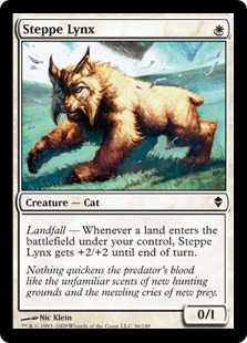《ステップのオオヤマネコ/Steppe Lynx》[ZEN] 白C