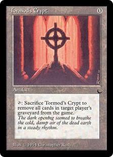 《トーモッドの墓所/Tormod's Crypt》[DRK] 茶U