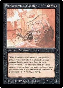 《Frankenstein's Monster》[DRK] 黒R