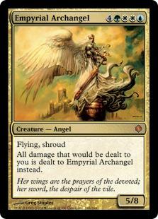 《浄火の大天使/Empyrial Archangel》[ALA] 金R