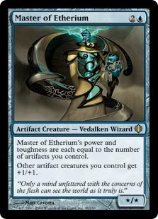 《エーテリウムの達人/Master of Etherium》[ALA] 青R