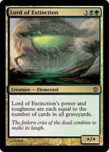 【Foil】《絶滅の王/Lord of Extinction》[ARB] 金R