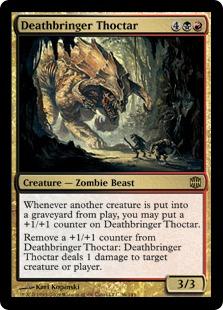 《死を運ぶソクター/Deathbringer Thoctar》[ARB] 金R