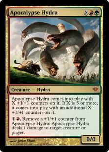 《黙示録のハイドラ/Apocalypse Hydra》[CON] 金R