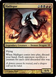 《マルフェゴール/Malfegor》[CON] 金R