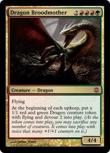 《ドラゴンの大母/Dragon Broodmother》[ARB] 金R