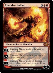 【Foil】《チャンドラ・ナラー/Chandra Nalaar》[M10] 赤R