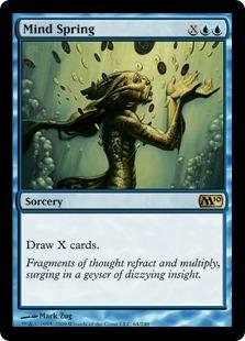 《思考の泉/Mind Spring》[M10] 青R