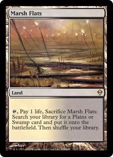 《湿地の干潟/Marsh Flats》[ZEN] 土地R