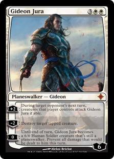 【Foil】《ギデオン・ジュラ/Gideon Jura》[ROE] 白R