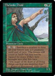 《Thelonite Druid》[FEM] 緑U