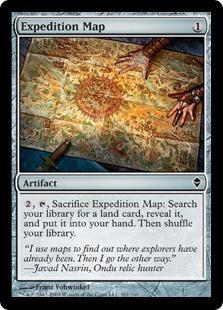 《探検の地図/Expedition Map》[ZEN] 茶C