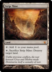 【Foil】《露天鉱床/Strip Mine》[FtV:Exiled] 土地