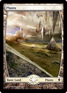 【Foil】《平地/Plains》(233)[ZEN] 土地