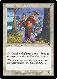 【Foil】《弩弓歩兵/Crossbow Infantry》[MMQ] 白C