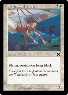 《夜風の滑空者/Nightwind Glider》[MMQ] 白C