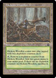 《ヒッコリーの植林地/Hickory Woodlot》[MMQ] 土地C