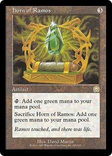 《レイモスの角/Horn of Ramos》[MMQ] 茶R