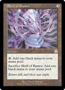 《レイモスの頭蓋骨/Skull of Ramos》[MMQ] 茶R