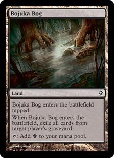 《ボジューカの沼/Bojuka Bog》[WWK] 土地C