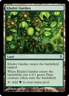 《カルニの庭/Khalni Garden》[WWK] 土地C