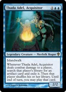 《奪い取り屋、サーダ・アデール/Thada Adel, Acquisitor》[WWK] 青R