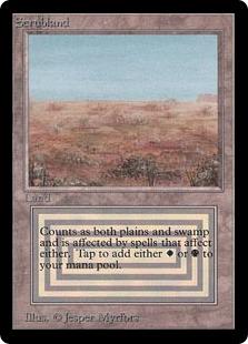 《Scrubland》[LEB] 土地R