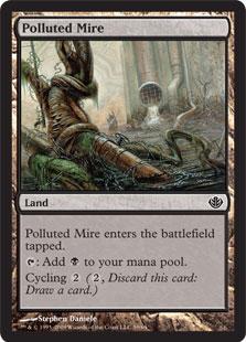 《汚染されたぬかるみ/Polluted Mire》[GvL] 土地C