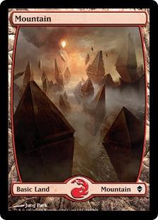 【Foil】《山/Mountain》(243)[ZEN] 土地
