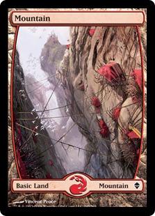 【Foil】《山/Mountain》(245)[ZEN] 土地