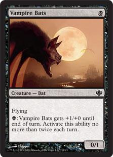 《吸血コウモリ/Vampire Bats》[GvL] 黒C