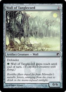 《絡み線の壁/Wall of Tanglecord》[SOM] 茶C