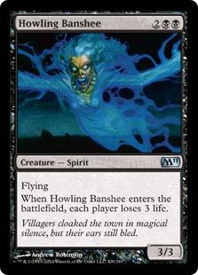 《吠えたけるバンシー/Howling Banshee》[M11] 黒U