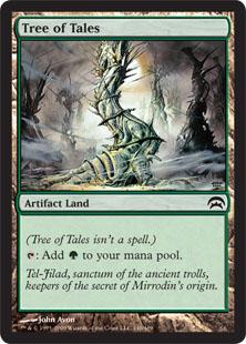 《伝承の樹/Tree of Tales》[PCS] 土地C
