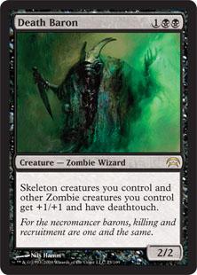 《死の男爵/Death Baron》[PCS] 黒R