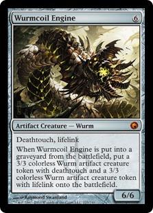 《ワームとぐろエンジン/Wurmcoil Engine》[SOM] 茶R