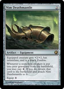 《屍賊の死のマント/Nim Deathmantle》[SOM] 茶R