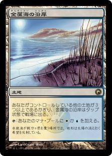 金属海の沿岸